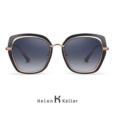 海伦凯勒轻熟气质系列女款太阳镜 H8819 渐变灰N24