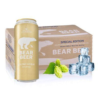 德国进口 豪铂熊(BearBeer) 小麦啤酒
