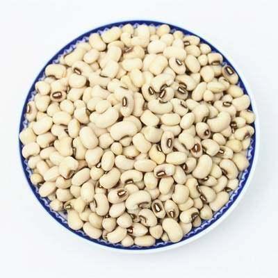 眉豆5斤 农家白豇豆 白豆白饭豆眉豆豆类五谷杂粮粗粮豆子2500g【优品】