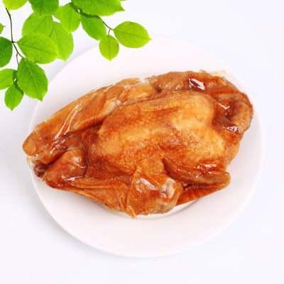 宝吉鼎扒鸡整只500g正宗五香扒鸡德州烧鸡烤鸡手撕鸡整只鸡肉熟食【优品】