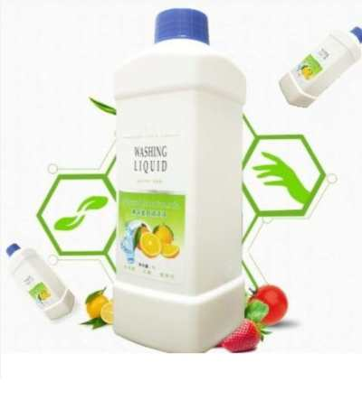 易曼-果蔬餐具清洗液浓缩液 洗洁精1L/瓶 去除农药 无色素 无磷 植物萃取