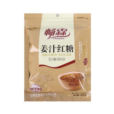 【耘凡兔468】姜汁红糖 甘蔗老红糖350g装*5袋 烘焙糕点调味女生月子经期红糖水