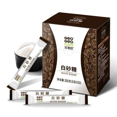吉意欧 GEO 白砂糖50条 咖啡伴侣