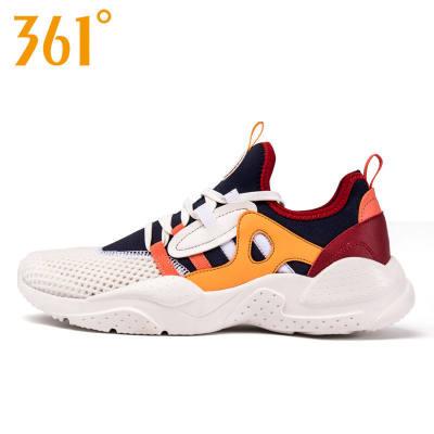 【品牌】361°度男鞋网鞋透气运动鞋跑步鞋361°春夏季网面轻便舒适休闲鞋子