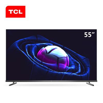 TCL 55V680 55英寸液晶电视机 4k超高清 全面屏