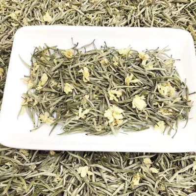 浓香茉莉花茶聚天禾茉莉针王散茶500g福建茶叶散装茉莉花茶