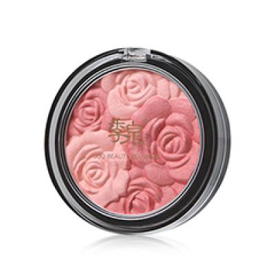 季泉 花漾悦颜玫瑰腮红 9g 提亮肤色修饰轮廓提升气色