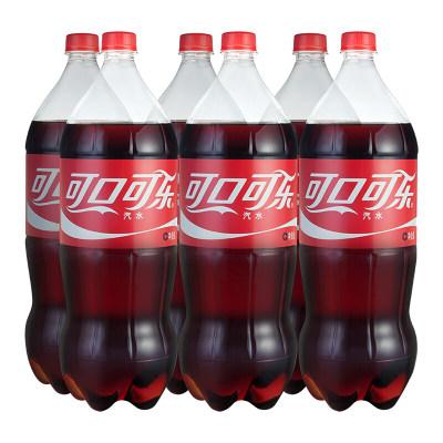 可口可乐 Coca-Cola 汽水 碳酸饮料 2L*6瓶