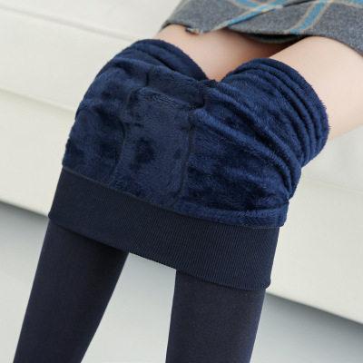 【耘凡兔191】加绒加厚珍珠绒打底裤秋冬踩脚保暖外穿一体裤女230g