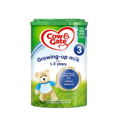 【耘凡兔013】英国Cow Gate牛栏进口婴幼儿配方奶粉3段800g*2罐