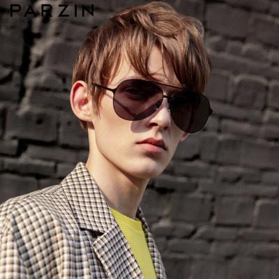 帕森(PARZIN )偏光太阳镜型男经典蛤蟆镜安全驾驶墨镜