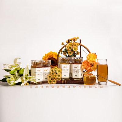 佛慈 纯正天然党参蜂蜜 400g/瓶 土蜂蜜包装中国槐花蜜液态蜜药材蜜 包邮
