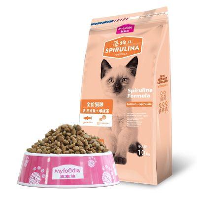 麦富迪 宠物猫粮藻趣儿三文鱼通用幼猫粮10kg