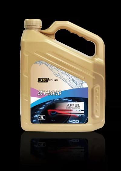 沃联(连)润滑油V8300 SL5W40 4L