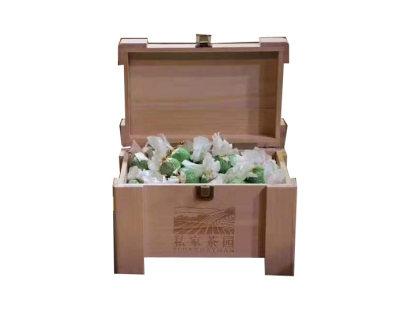陈皮白茶 环保木箱 一套一斤