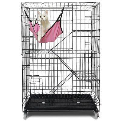 兴达万宠 猫笼子二层加粗猫别墅三层四层猫咪笼别墅猫笼具猫窝铁