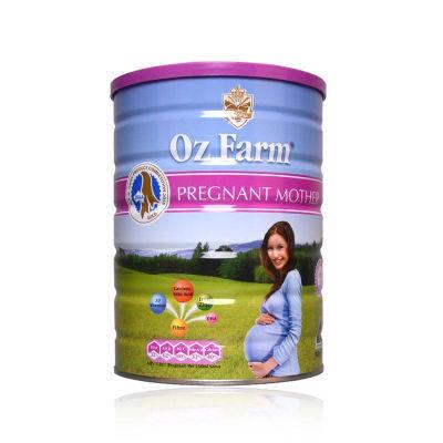 【耘凡兔013】OzFarm澳美滋孕妇奶粉 澳洲原罐DHA叶酸怀孕期900g*2罐