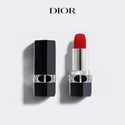 Dior/迪奥 烈艳蓝金唇膏口红 3.5g 持久妆效 显色 润泽唇部