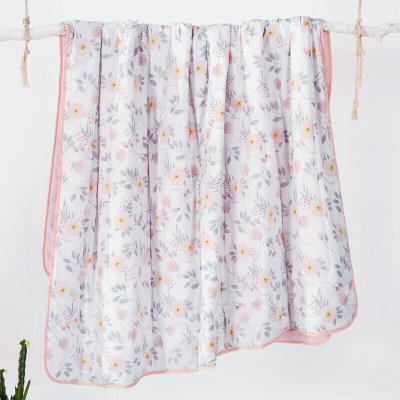 LOVO家纺 空调被夏凉被子被芯抗菌可水洗机洗舒柔软ins风