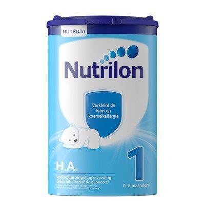 【耘凡兔013】荷兰牛栏适度半水解蛋白奶粉HA 1段诺优能防过敏腹泻特殊配方奶粉2罐装