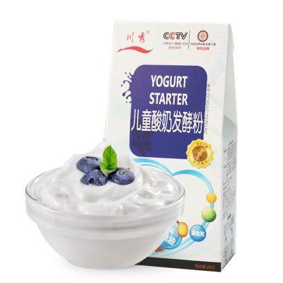 川秀(儿童成长型)营养酸奶发酵菌粉 家用酸奶发酵剂25g