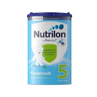 【耘凡兔013】荷兰Nutrilon牛栏/诺优能原装进口婴幼儿配方奶粉5段800克*2罐