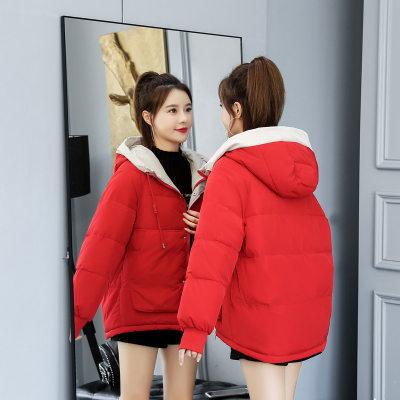 韩版棉衣 女式羽绒棉服 短款 时尚宽松 2020秋冬新款