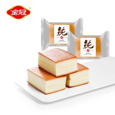 【耘凡兔787】金冠长崎纯蛋糕1000g 营养早餐西式糕点休闲零食烘焙面包