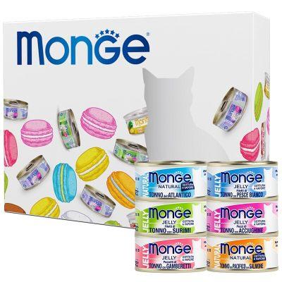 泰国进口 猫罐头 意大利Monge 猫零食 成猫幼猫零食罐