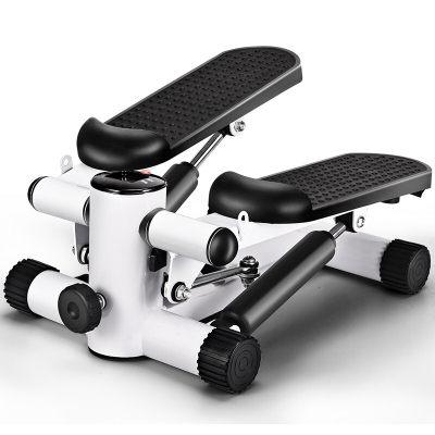 格卡诺 踏步机 家用静音脚踏机原地慢跑椭圆机运动健身器材脚踏机 黑白加强款