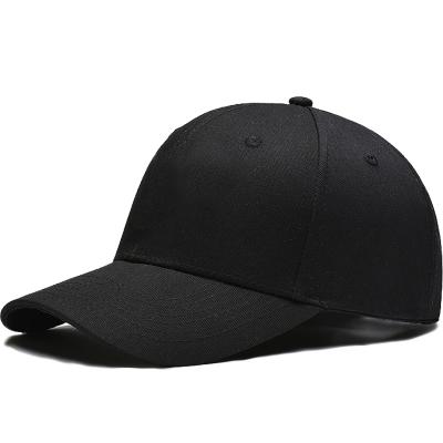 初荷 TRUE HER 帽子男女棒球帽韩版潮鸭舌帽户外黑色