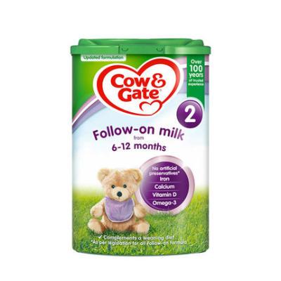【耘凡兔013】英国Cow Gate牛栏进口婴幼儿配方奶粉2段800g*2罐