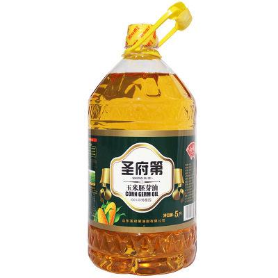 【耘凡兔411】圣府第5L非转基因玉米油物理压榨一级食用油
