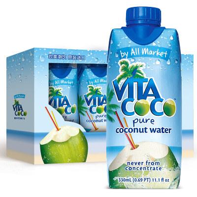 唯他可可(Vita Coco)天然椰子水进口NFC果汁饮料
