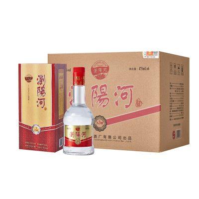 浏阳河酒 名酿3 52度 浓香型白酒 475ml*6瓶