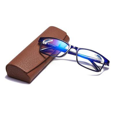 夕阳红防蓝光老花眼镜 男女通用 高清树脂镜片 JX6017