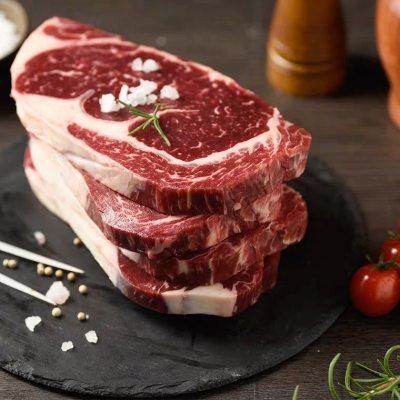 整切牛排原味西冷牛排新鲜原切不拼接牛排真空装