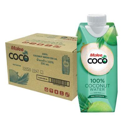 泰国原装进口 玛丽NFC天然无添加原味椰子水饮料椰汁果汁