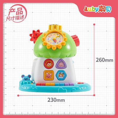 澳贝(AUBY)益智玩具儿童积木玩具宝宝趣味小树声光珠算电子