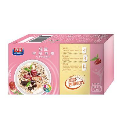 西麦 西澳阳光 即食谷物早餐 燕麦片(红枣阿胶配方)180g
