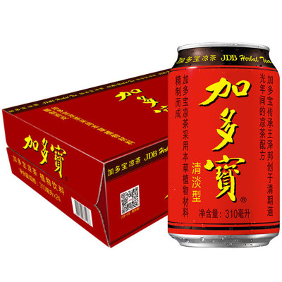 加多宝 植物凉茶饮品整箱罐装加多宝凉茶