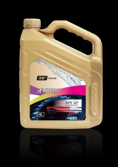 沃联(连)润滑油V8600 全合成 SP5W40 4L