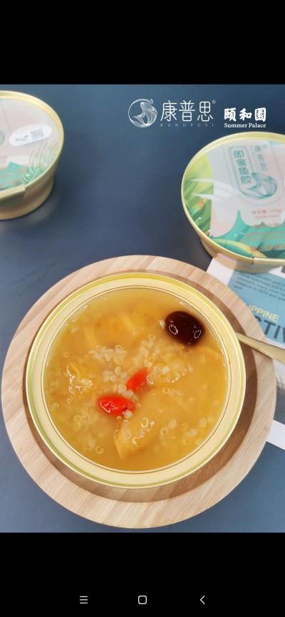 康普思即食鱼胶(颐和圆)150g