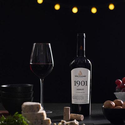 摩标美乐干红葡萄酒1901-M