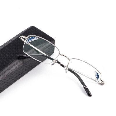夕阳红老花镜男女通用 高清舒适 AC镀膜镜片 JX6003