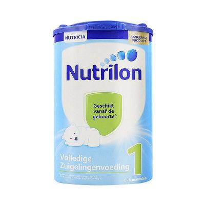 【耘凡兔013】荷兰牛栏1段奶粉Nutrilon进口婴儿原装奶粉诺优能荷牛1段800g*2罐