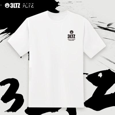 3LTZ 2020基础款 夏季简约纯棉圆领t恤 男女同款 舒适休闲短袖