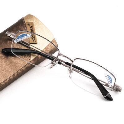 夕阳红老花镜男女通用 高清舒适 AC镀膜镜片200度