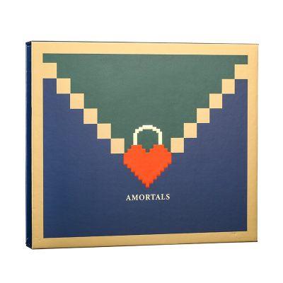 韩国AMORTALS 尔木萄16色眼影盘套盒(4盘16色)