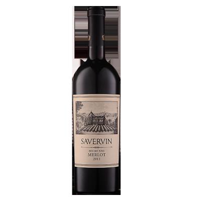 萨维雯系列 2011 年梅洛干红葡萄酒(002)